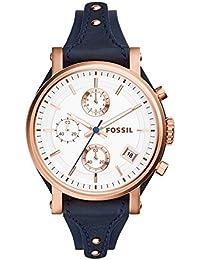 Women's ES3838 Original Boyfriend Chronograph Leather Watch