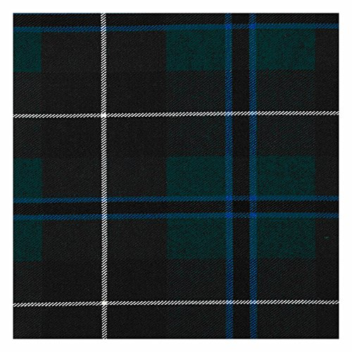 Tartan Mini Sash with Rosette, 100% Scottish Wool Tartan Ladies Mini Sash (Douglas Modern) (Douglas 100% Wool)