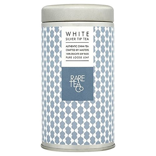 Rare Tea Company Loose White Silver Tip Tea 25g - Pack of 6 by Rare Tea Company