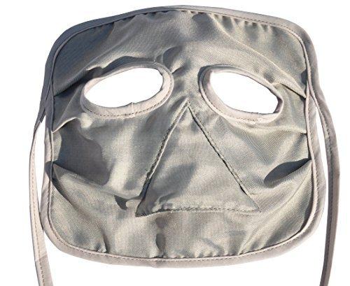 LVFEIER Anti-radiation mask breathable skin care Internet protection computer radiation masks men and women silver fiber sunscreen Masks by LVFEIER (Image #3)