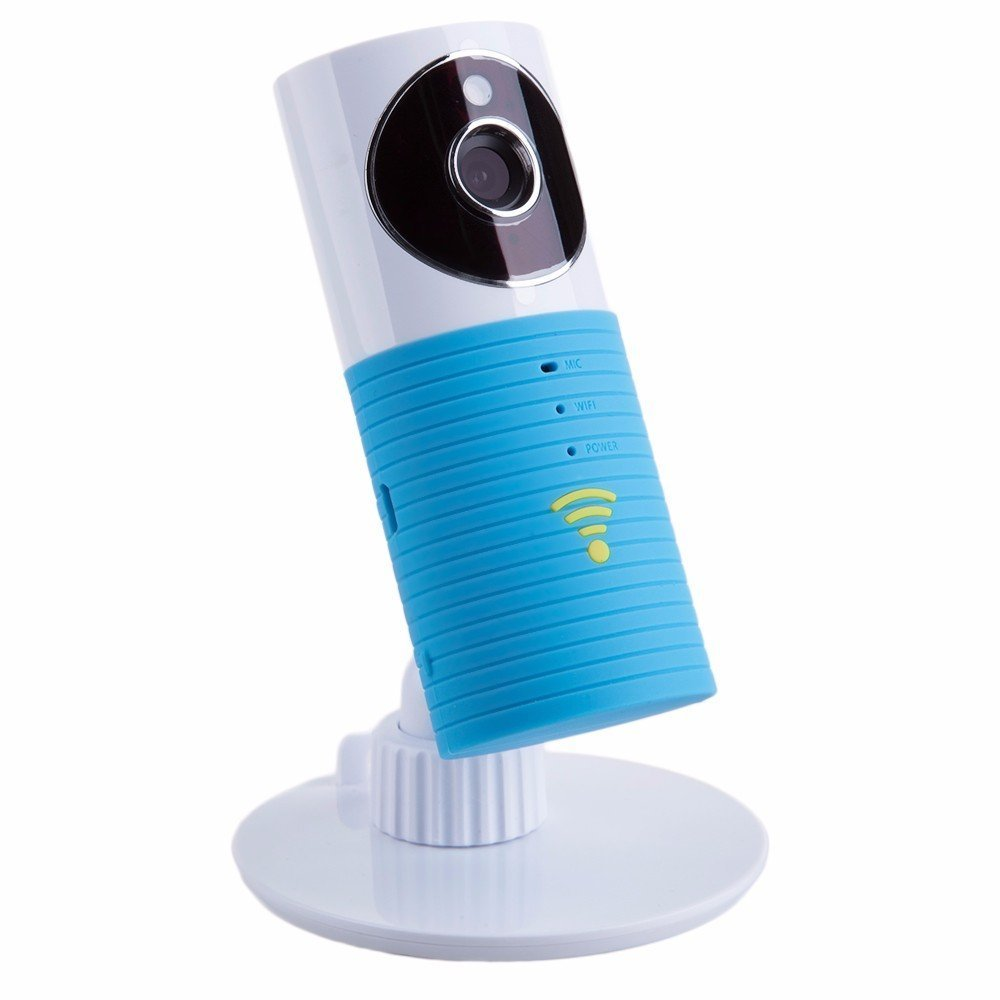 FancyTech 2nd Generation Clever Dog Smart Camera with 960P HD 120° Wide Angel Lens Support TF Card (Up to 128G) Mini Security Wireless Baby Monitor Surveillance Camera (Azul) FancyTech.