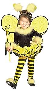 Rubie's Child's Costume, Bumblebee Tutu Costume-Toddler