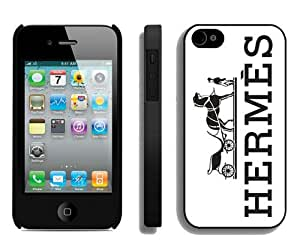 Beautiful And Unique Designed Case For iPhone 4 With Hermes 15 Black Phone Case