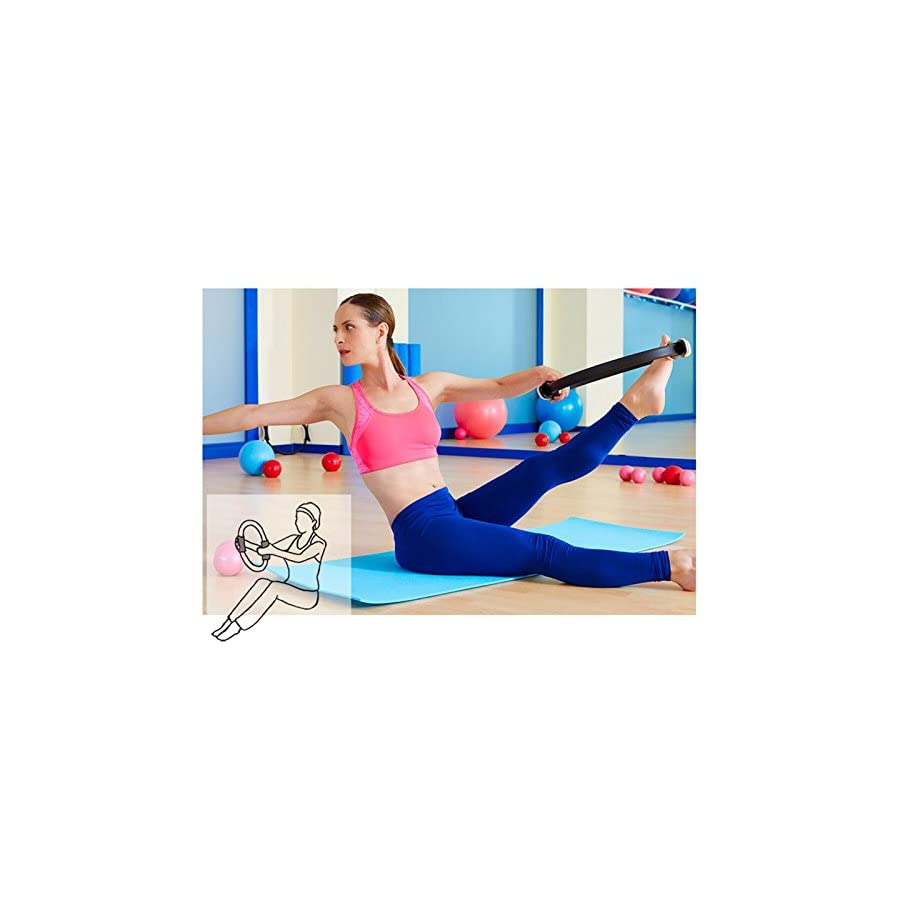 TOPLAND™ Pilates Ring Premium 14'' Power Resistance Full Body Toning Fitness Circle