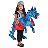 Kids Step in Dragon 3-7 Years Plush Giant Beasts Fancy Dress Costume