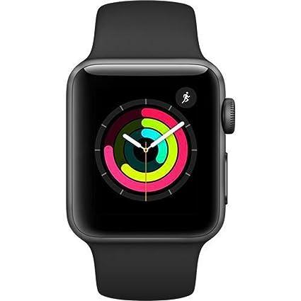 Amazon.com: Apple Watch carcasa de aluminio Sport con banda ...