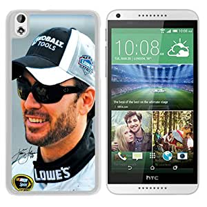 Popular Custom Designed Case For HTC Desire 816 With Jimmie Johnson White Phone Case