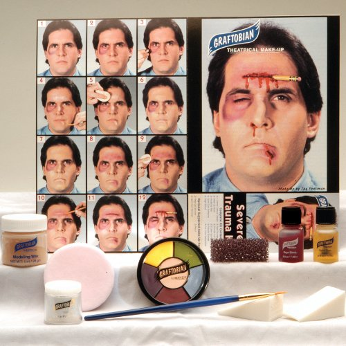 [Loftus International Graftobian Severe Trauma Make-Up Kit] (Special Effects Makeup Kit)