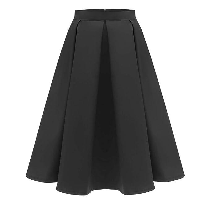 f543a1e80fd Women 3D Printed Green Shamrock Skirts High Waist Flared Pleated ...