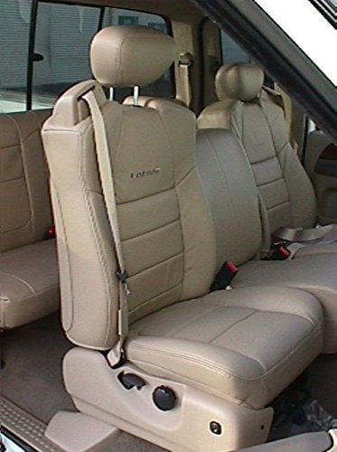 Durafit Seat Covers, FD26-Gray Endura-Ford F250-F550 Super Cab Front and Back Set. Front 40/20/40 with Integrated Seat Belts. Rear 40/60 Split Bench Seat Covers in Gray Waterproof Endura (Rear Center Seat Belt)