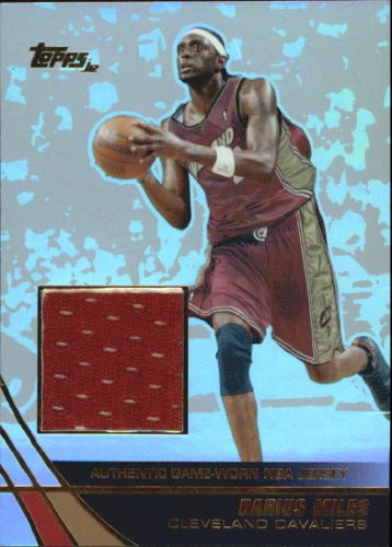 - 2003 Topps Jersey Edition Basketball Card (2003-04) #DMI Darius Miles Near Mint/Mint
