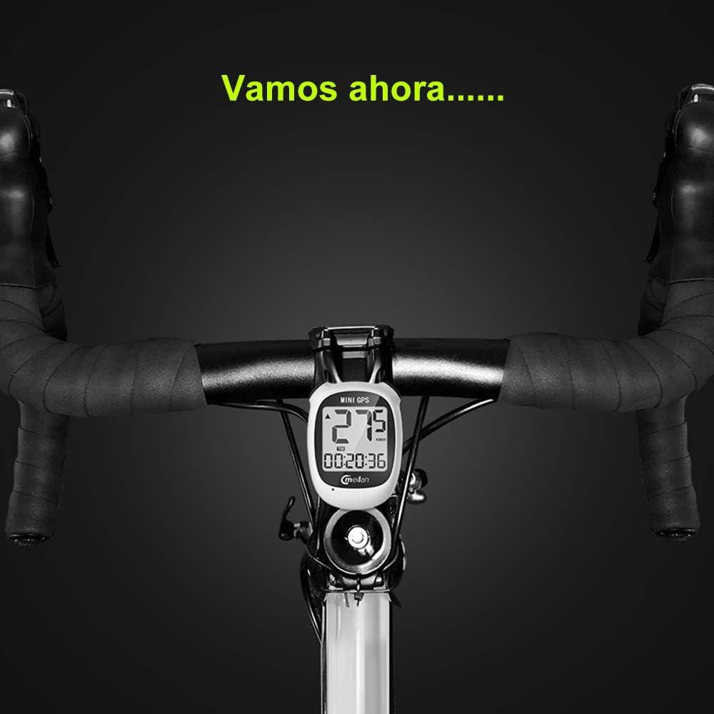 Computadora de Bicicleta GPS Mini, Inalámbrico Velocímetro y ...