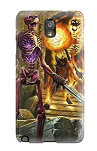 Best 8551554K67926481 Fashionable Style Case Cover Skin For Galaxy Note 3- Skeleton Army