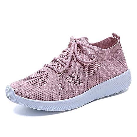 marchio famoso codici promozionali scarpe di separazione MZNSYDX Scarpe Casual da Donna Moda Sneakers Donna Scarpe Bianche ...