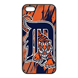 Detroit Tigers logo Fashion Comstom Plastic case cover For Iphone 5s