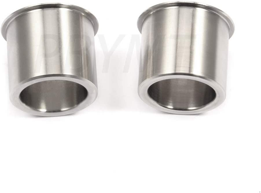 Sliver PBYMT Wheel Bearing Reducers 1 to 3//4 Axle Reducer Spacer Compatible for Harley Davidson Dyna Softail Touring Street Glide Road King Electra Glide 1986-2020