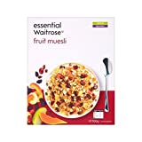 Fruit Muesli essential Waitrose 500g - Pack of 2