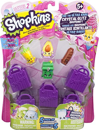 Shopkins Doll Collection, 5 Pack-Season