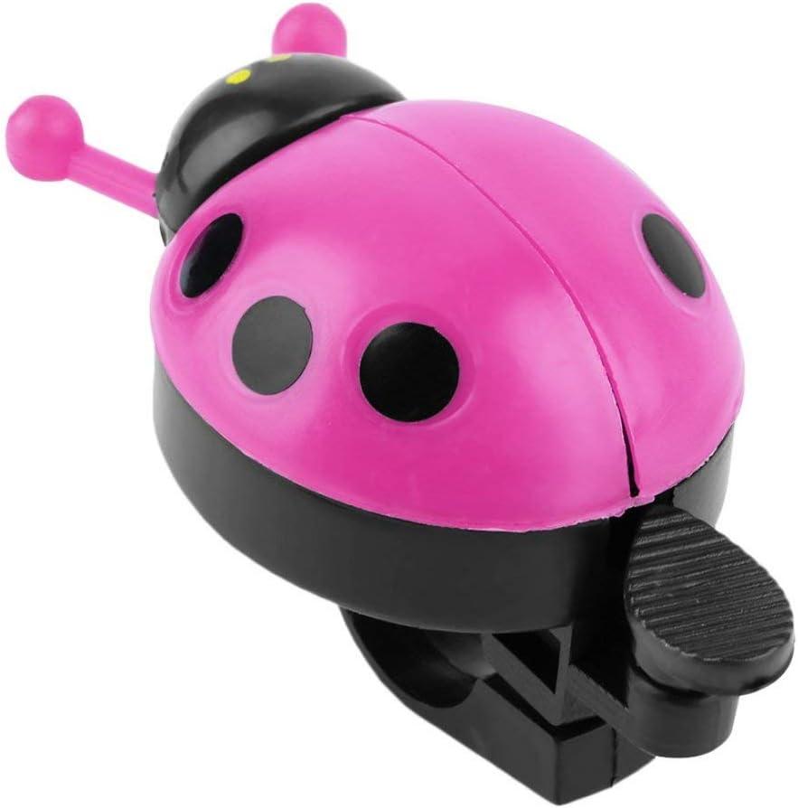 Color/é en Plastique Clair et m/élodieux Bell Sound Belle Kid Beetle Coccinelle Anneau Bell pour v/élo v/élo v/élo Ride klaxon Alarme