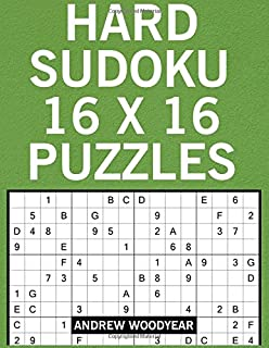 2018 16 X 16 Sudoku Puzzle Book For Adults: 365 Easy to Hard