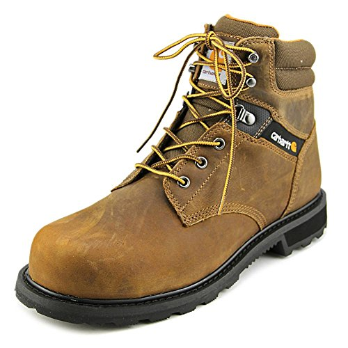 for nice cheap price Carhartt Men's 6 Work Safety-Toe NWP Work Boot Crazy Horse Brown Leather authentic cheap price fake cheap price free shipping 2014 hot sale cheap price J22IC