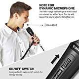 TONOR Dynamic Karaoke Microphone for Singing with
