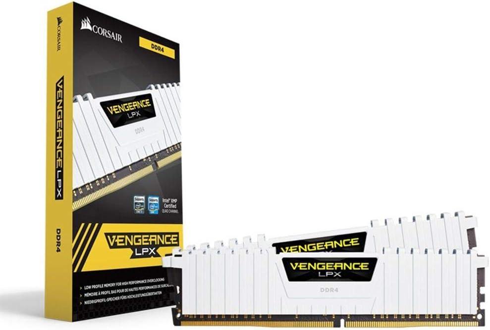 Color Negro Corsair Vengeance LPX M/ódulo de Memoria XMP 2.0 de Alto Rendimiento de 32 GB 2 x 16 GB, DDR4, 3200 MHz, C16