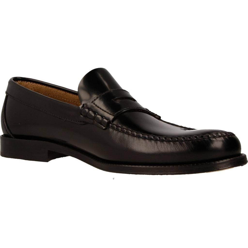 Mocasines para Hombre, Color Negro, Marca Edwards, Modelo Mocasines para Hombre Edwards B76671 Ancho Especial Negro: Amazon.es: Zapatos y complementos