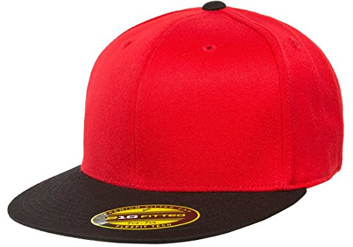 Flexfit Premium Original Blank Flatbill Fitted 210 Hat ()