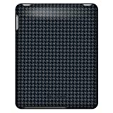 Speck Products Apple iPad Fitted Case in Houndstooth Gray (Black and Gray), IPAD-FTD-A02A002