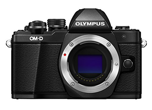 Olympus OM-D E-M10 Mark II Mirrorless Digital Camera (Black) - Body only