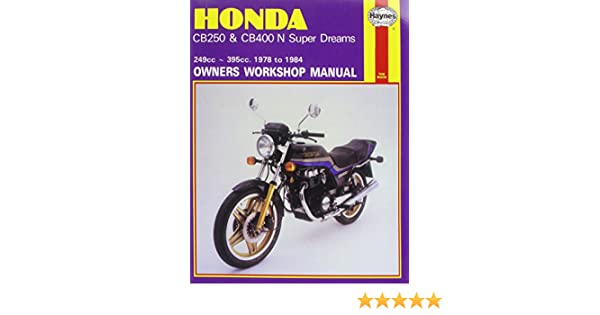 honda cb250 and cb400n superdreams owner s workshop manual rh amazon com manual despiece honda cb 400 n manual despiece honda cb 400 n