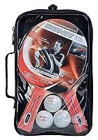 Donic-Schildkröt Premium Tischtennis Set WALDNER 600 2 Schläger 3 Bälle in...