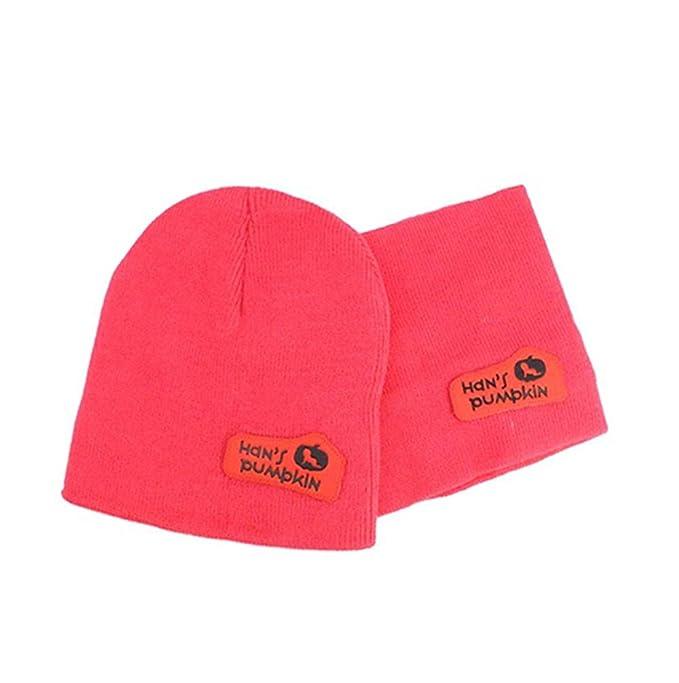FOURCHEN Cappello invernale da bambino Cappellino di sciarpe ... 1ac3d66a2071
