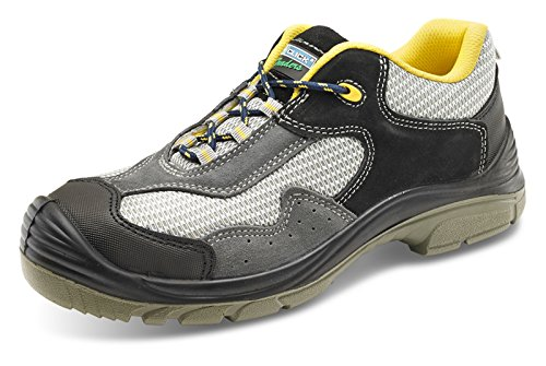 Click Shoe Safety nbsp;– Trainer 8 Metallic nbsp;Size Non 4wTqS4vP