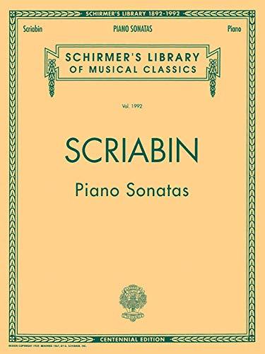 Piano Sonatas - Centennial Edition: Schirmer Library of Classics Volume 1992 Piano Solo (Schirmer's Library of Musical Classics) ()