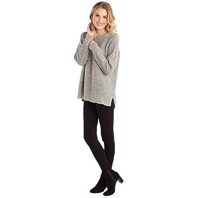 Mud Pie Gray Mara Sweater in Individual Sizes at Women's Clothing store