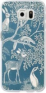 Galaxy S6 Edge Case,Dseason Samsung Galaxy S6 Edge Hard Case **NEW** High Quality Unique Design Protective Animal paradise