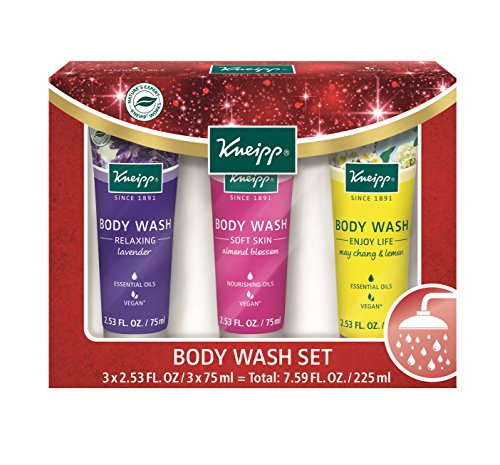 Kneipp Holiday Body Wash Gift Set (Essential Wash Kneipp Body Oils)