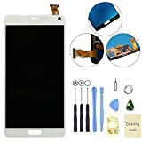 Eachbid LCD display Touch Screen Digitizer Assembly Replacement for Samsung Galaxy Note 4 N910 N910S N910C N910A N910V N910P N910R N910T White