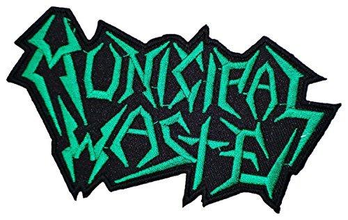 Municipal Band - Municipal Waste Thrash Metal Band Logo t Shirts MM46 Sew Iron on Patches