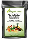 Vital Life Nutrients (TM) - The Complete & Ultimate Natural Whole Food Meal Replacement Powder Drink Mix, 60 Srv