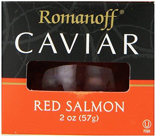 Kosher Caviar - Romanoff Caviar Red Salmon, 2 Ounce Jar