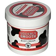 Udderly Smooth Udder Cream, Skin Moisturizer, 12 Ounce Jar