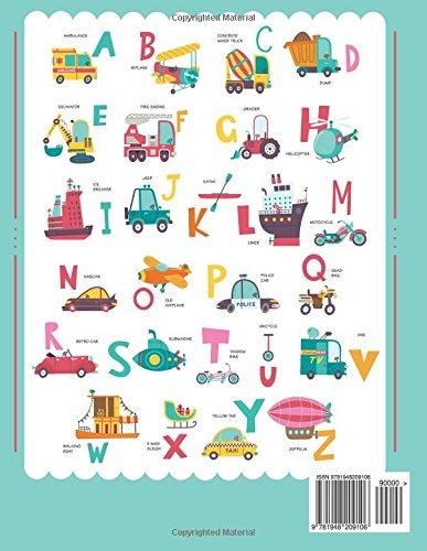 Trace Letters Of The Alphabet and Sight Words (On The Go): Preschool Practice Handwriting Workbook: Pre K, Kindergarten…