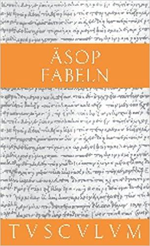Fabeln Griechisch Deutsch Greichisch Deutsch Sammlung Tusculum Amazon De Nickel Rainer Asop Bucher