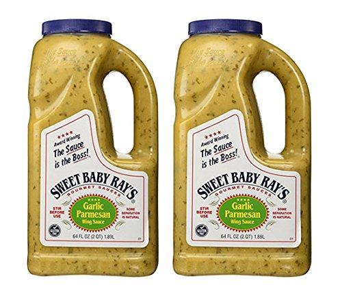 - Sweet Baby Ray's Garlic Parmesan Wing Sauce 64 Oz (2 Pack)