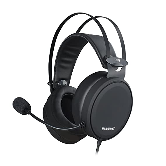 NUBWO Gaming Headset PS4, N7 Stereo Xbox one Headset Wired PC Gaming Headphone mit Rauschunterdrückungsmikrofon, Over-Ear Kop