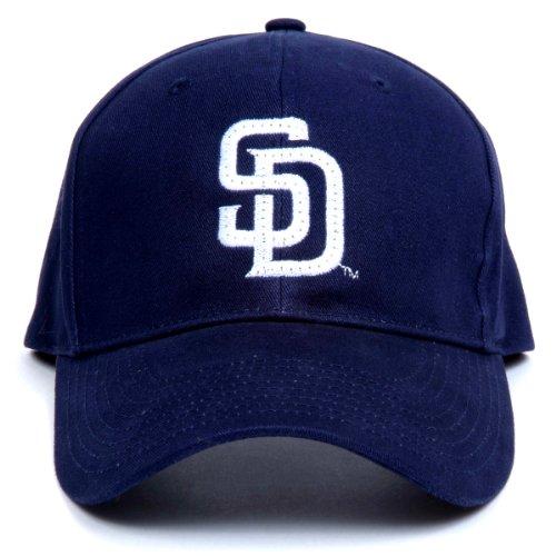 MLB San Diego Padres LED Light-Up Logo Adjustable Hat