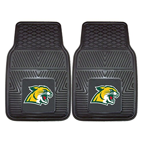 (Fanmats 13282 Northern Michigan University Wildcats Front Row Vinyl Heavy Duty Car Mat - 2 Piece)
